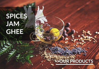 Spices, Jam, Ghee